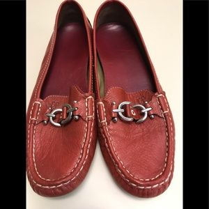 Leather Driving Loafers.